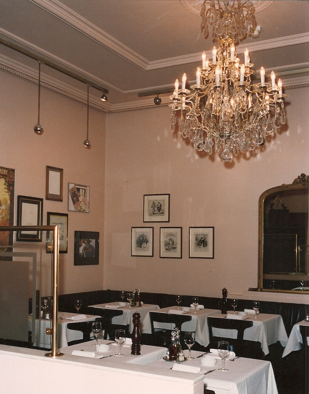 Deco Brasserie / Innengestaltung